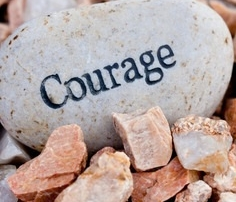 Courage Rocks