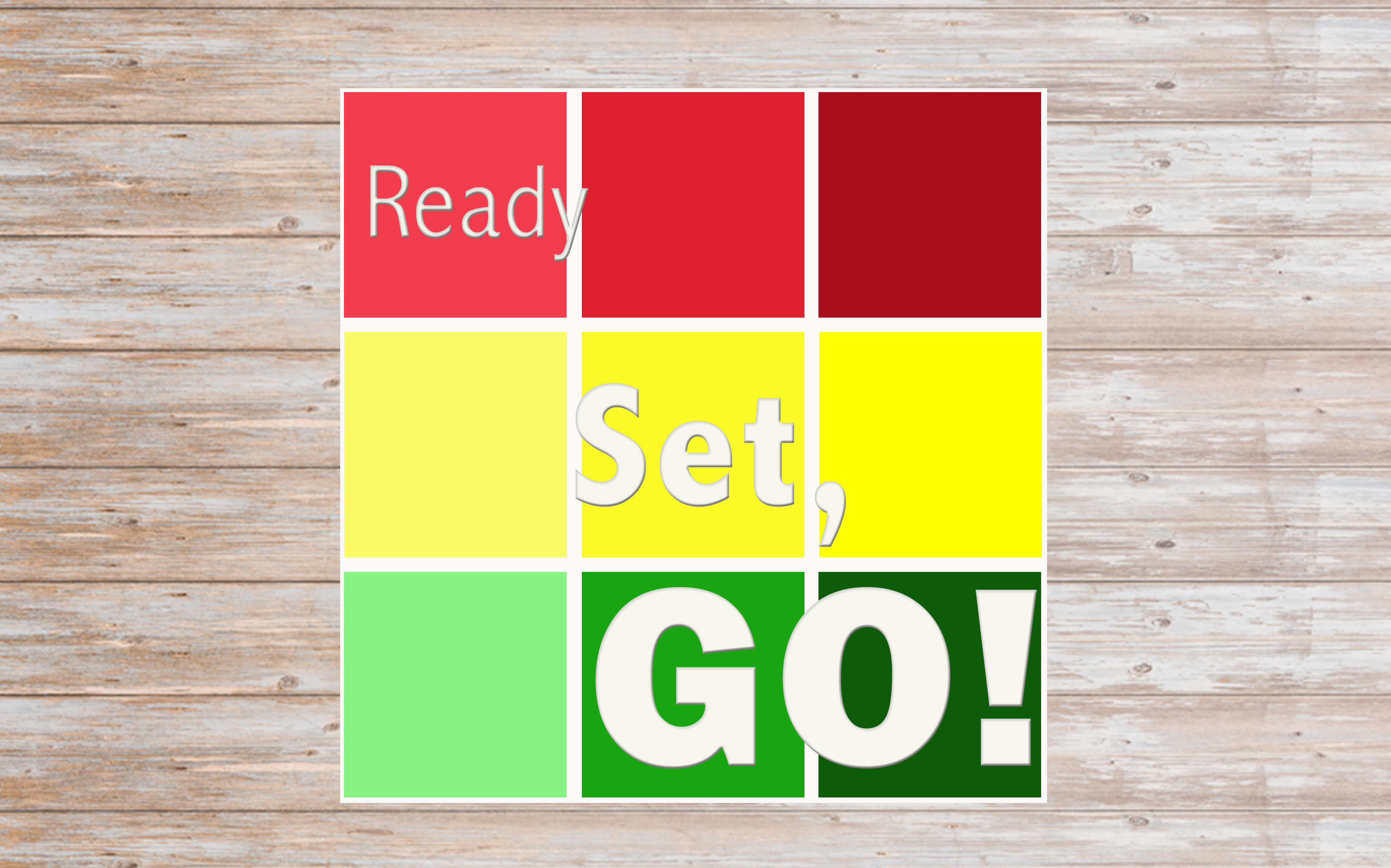 Ready Set Go - Sermon Series